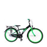 Afbeelding vanVolare Kinderfietsen Thombike City N3 Speed 24 inch Black Green