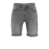 Afbeelding vanAmsterdenim slim fit jeans short grijs