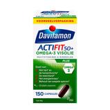 Afbeelding vanDavitamon Actifit 50 Plus Omega 3 Visolie Capsules 150st