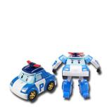 Afbeelding vanSilverlit Transformerend speelgoed Robocar Poli blauw SL83171