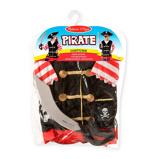 Afbeelding vanMelissa & Doug verkleedset Piraat 4 delig