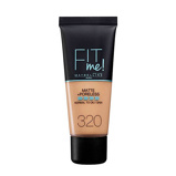 Afbeelding vanMaybelline New York Fit Me! Matte + Poreless liquid foundation 320 Natural Tan