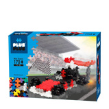 Afbeelding vanPlus Mini Basic Racewagen 170 stuks
