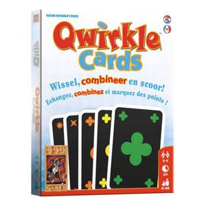 Afbeelding van 999 Games Qwirkle cards kaartspel
