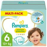 Afbeelding vanPampers Premium Protection maandbox maat 6 (13+ kg) 120 luiers