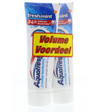 Afbeelding vanAquafresh Tandpasta Freshmint 75 Ml Duo (2x75ml)