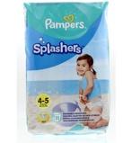 Afbeelding vanPampers Splashers maat 4 5 (9 15 kg) 11 wegwerpbare zwemluiers