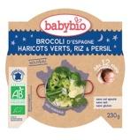 Afbeelding vanBabybio Mon Petit Plat Broccoli Princessenbonen Rijst 230g