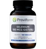 Afbeelding vanProviform Selenium 100 Mcg Gistvrij, 100v capsules