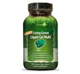 Afbeelding vanIrwin Naturals Living Green Liquid Gel Multi For Men, 120 Soft tabs