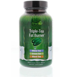 Afbeelding vanIrwin Naturals Triple Tea Fat Burner, 75 Soft tabs