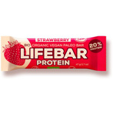 Afbeelding vanLifefood Lifebar aardbei (47 gram)