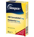 Afbeelding vanSleepzz Cbd 7mg & 5mg melatonine 25 tabletten