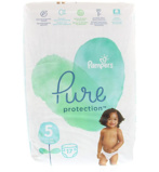 Afbeelding vanPampers Pure Protection 11+ Kg Maat 5 (17st)
