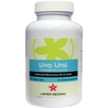 Afbeelding vanLiever Gezond Uva ursi (100 capsules)