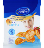 Afbeelding vanWeight Care Chips snack paprika 8 x 25g