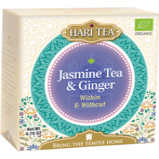 Afbeelding vanHari tea within & without jasmine ginger (10 stuks)