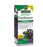 Afbeelding vanNatures Answer Sambucus Vlierbessen Extract 12.000 Mg Suikervrij, 120 ml