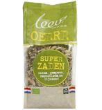 Afbeelding vanLeev Bio super zaden sesam pompoen zonneb gebr lijnzaad (350 gram)