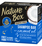 Afbeelding vanNature Box Coconut oil shampoo bar 85 gram