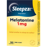 Afbeelding vanSleepzz Melatonine 1 mg 50 tabletten