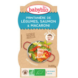 Afbeelding vanBabybio Groenten Zalm Pasta 12 Maanden 200 gram, 2x200 gram