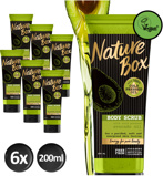 Afbeelding vanNature Box Bodyscrub Avocado 6 pack (200ml)