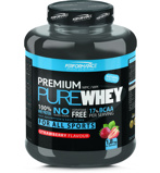 Afbeelding vanPerformance Sports Nutrition Premium Pure Whey Aardbei (1800g)