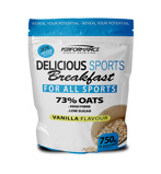 Afbeelding vanPerformance Sports Nutrition Delicious Breakfast Vanille (750g)