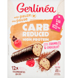 Afbeelding vanGerlinea Carb Reduced High Protein Repen Framboos Chocolade (372g)