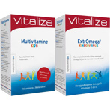 Afbeelding vanVitalize Extromega Kindervisolie + Multivitamine Kids 60kcaps+60kt