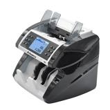"""Imagine din""""Aibecy Multi Currency Cash Banknote Money Bill Máquina de contagem automática de contadores com UV MG MT Detector de falsificação de infravermelho Suporta função de contagem de valor misto para EURO / USD / GBP / AUD / JPY / KRW"""""""