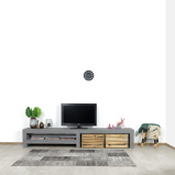 Afbeelding vanBetonlook TV meubel Denio met leggedeelte