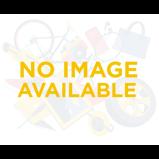 Billede af50'er kjole: Amanda sød kjole i påfugleblå med hvide bomber
