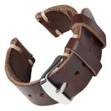 Bilde avBofink® Handmade Leather Strap for Fossil Men's Sport 43mm Brown/Sand