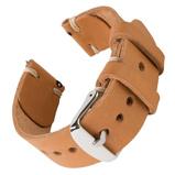 Bilde avBofink® Handmade Leather Strap for Fossil Grant Hybrid Natural