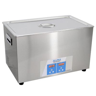 Abbildung von 30 Liter Ultraschallbad Palssonic 500 W, Edelstahl, 40 kHz, 600 W Heizleistung, Ultraschallreiniger 530 x 325 x 325 mm