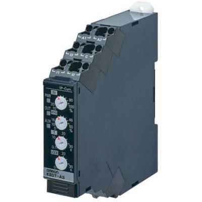 Afbeelding van 1 FASE BOVEN OF ONDER STROOMBEWAKING STROOMMEETBEREIK 0 TOT 5 A AC DC STUURSPANNING 240VAC UITGANG 1X WISSEL PUSH IN K8DTAS2CA