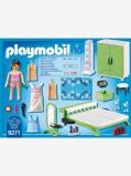 Imagem de9271 Quarto da Playmobil verde medio liso com motivo