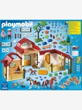 Imagem de6926 Quinta de Cavalos, da Playmobil bege claro liso com motivo