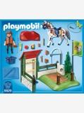 Imagem de6929 Set de limpeza para cavalos, da Playmobil bege claro liso com motivo