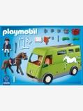 Imagem de6928 Transporte de cavalos, da Playmobil verde medio liso com motivo