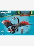 Imagem de70039 Garramorte com fuligem, da Playmobil vermelho escuro liso