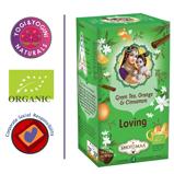 Afbeelding vanShoti Maa groene thee met sinaasappel & kaneel BIO 38.4 Biologisch (6 stuks)