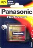 Afbeelding vanPanasonic CR P2 6V Foto Vermogen Primaire Lithium Batterij (1 Blisterverpakking) 5410853017219