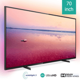 Afbeelding vanPhilips Ambilight 4K Smart LED TV 70PUS6704 70 inch