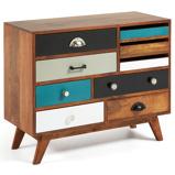 Afbeelding vanKave Home Collin Tv-meubel Bruin/Multicolor