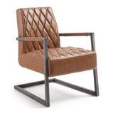 Afbeelding vanKave Home Trail Fauteuil Bruin