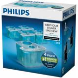 Afbeelding vanPhilips jet clean reinigingscartridge scheerapparaat 4+1 stuks