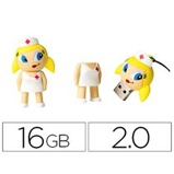 "Imagen de""Memoria usb techonetech flash drive 16 gb 2.0 enfermera kitty"""